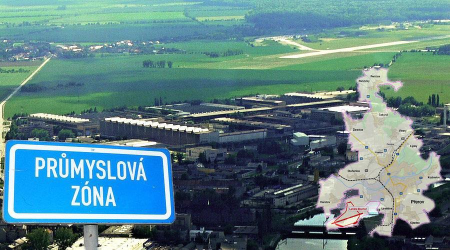 Vláda podpořila průmyslovou zónu v Přerově s letištěm