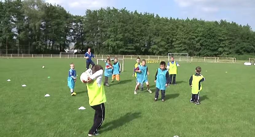 """Malí sportovci, hlavně fotbalisté, vstřelili svůj """"První gól"""""""