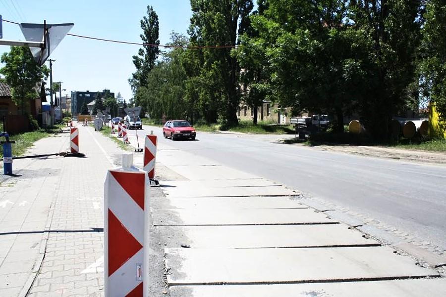 Jednosměrná uzavírka Tovačovské ulice
