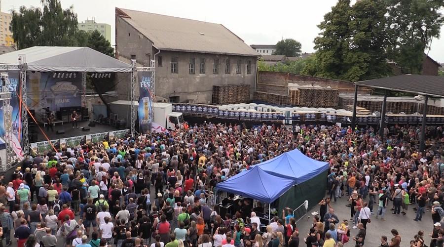 Nabitý sobotní ZUBRFEST přivítal tisíce návštěvníků