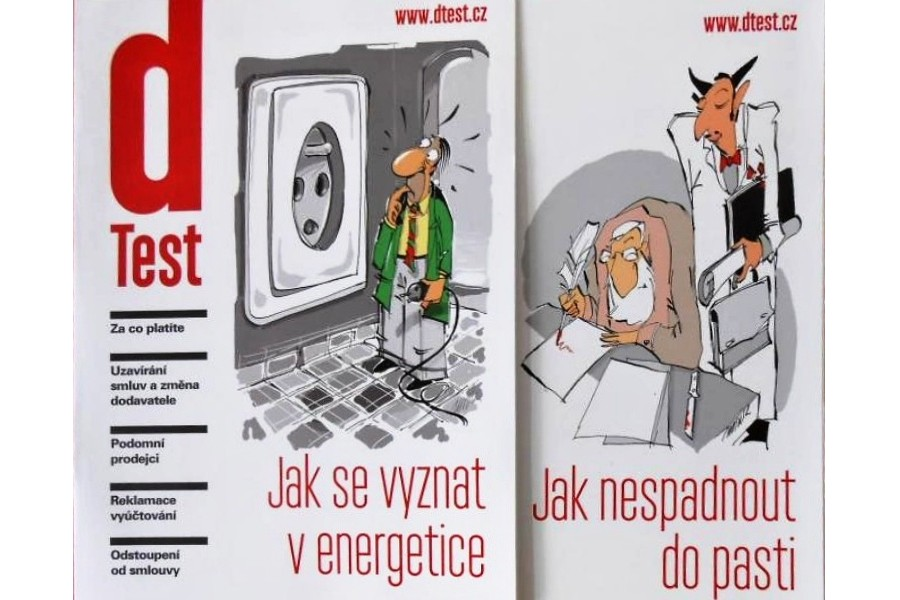 Nová brožura dTestu v informačních centrech města