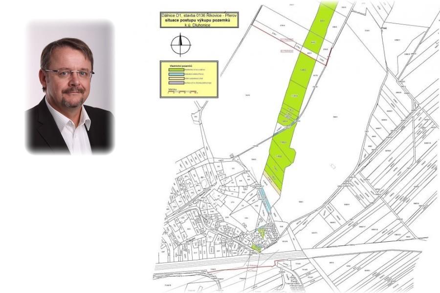 Do místní části Přerova – do Dluhonic – přijede ministr dopravy