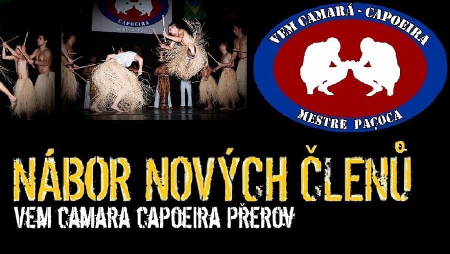 Vem Camara Capoeira Přerov – nábor