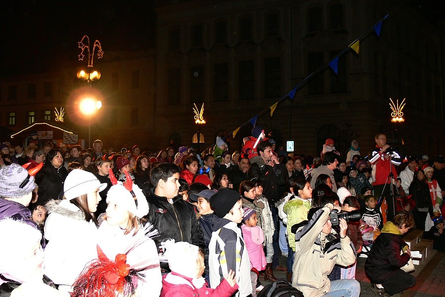Mikulášská diskotéka roztančí v sobotu Masarykovo náměstí