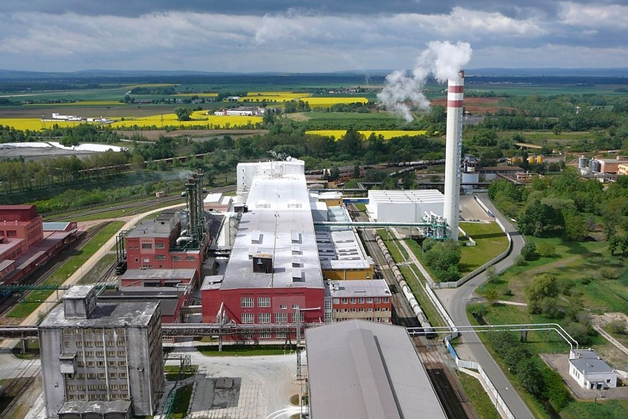 V Precheze se po roční odmlce, spustila opět výrobna kyseliny sírové
