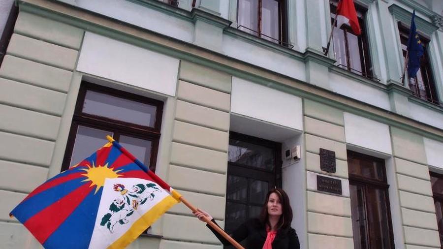 Na přerovské radnici bude opět po roce vlát tibetská vlajka