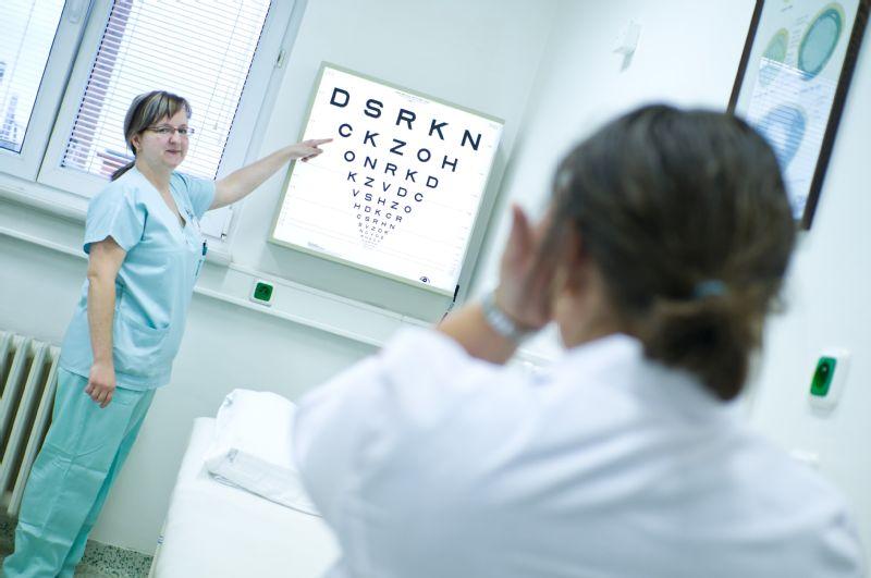 Nemocnice Přerov zve zájemce o vyšetření očí na Den prevence zeleného zákalu
