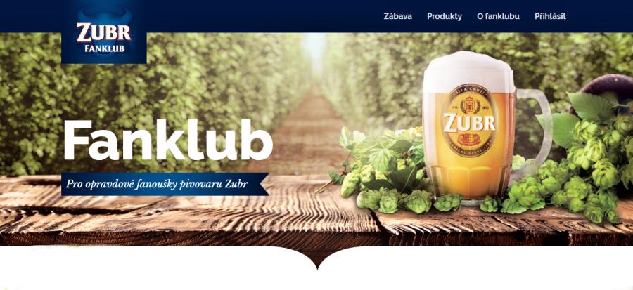 Pivovar Zubr zakládá svůj fanklub