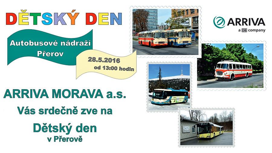 Dětský den s autobusy