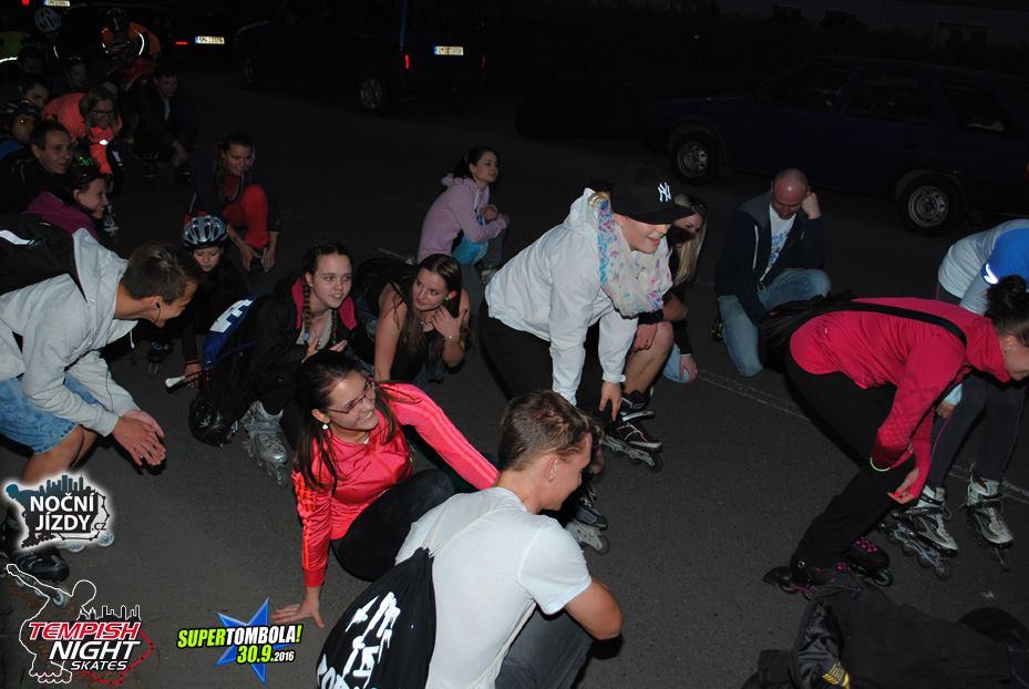 Letošní druhá noční jízda na bruslích Přerovem už v pátek