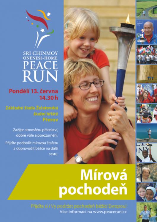 PeaceRun-Prerov-plakat