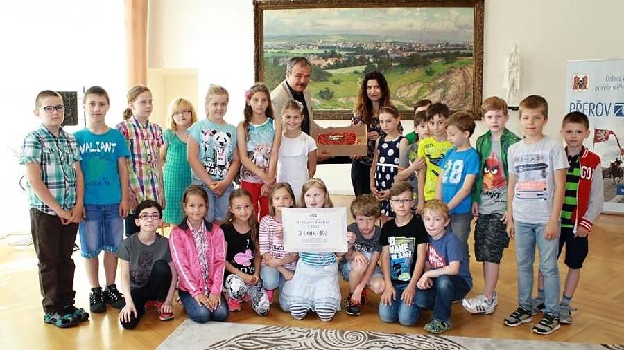 Přerovské děti nasbíraly skoro 310 tisíc kilo papíru, 2216 kilogramů baterií a 661 kilo hliníku