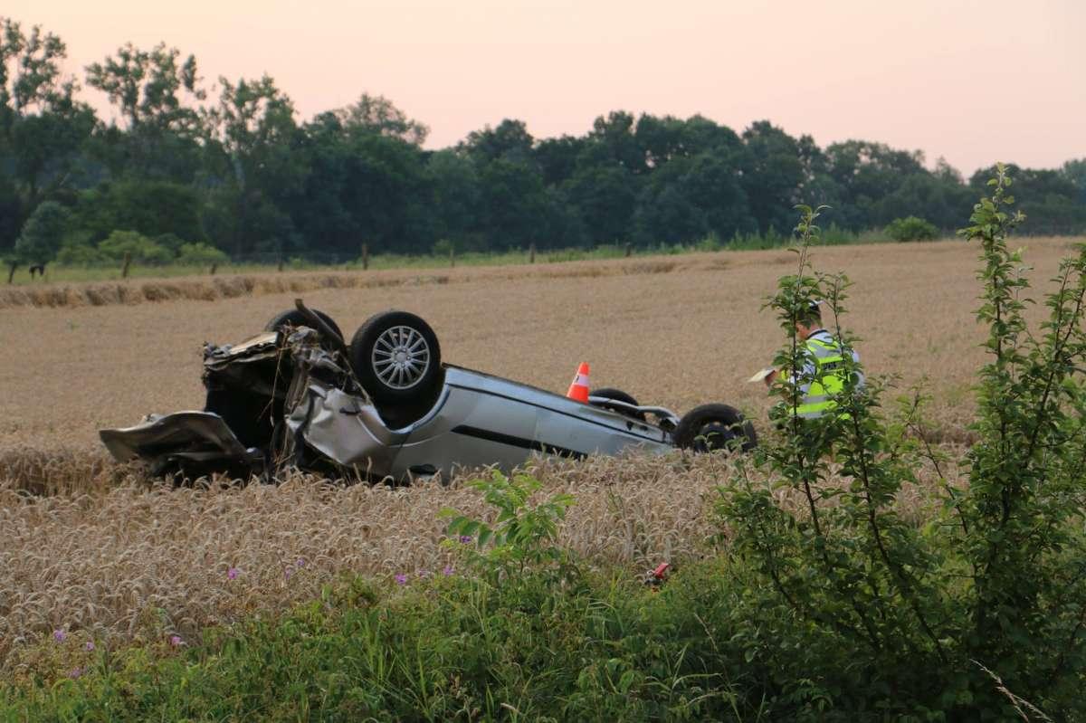 Tragická cesta z diskotéky. U Uhřičic nehodu nepřežil spolujezdec, řidič nadýchal 1,4 promile