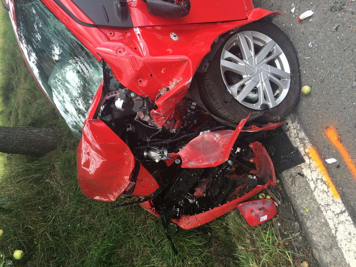 Tragická nehoda u Olšovce