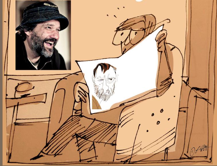 Karikaturista Václav Šípoš vystaví kresby s hudební tematikou
