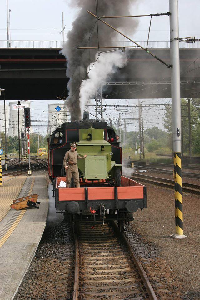 Do Přerova přijede legionářský vlak