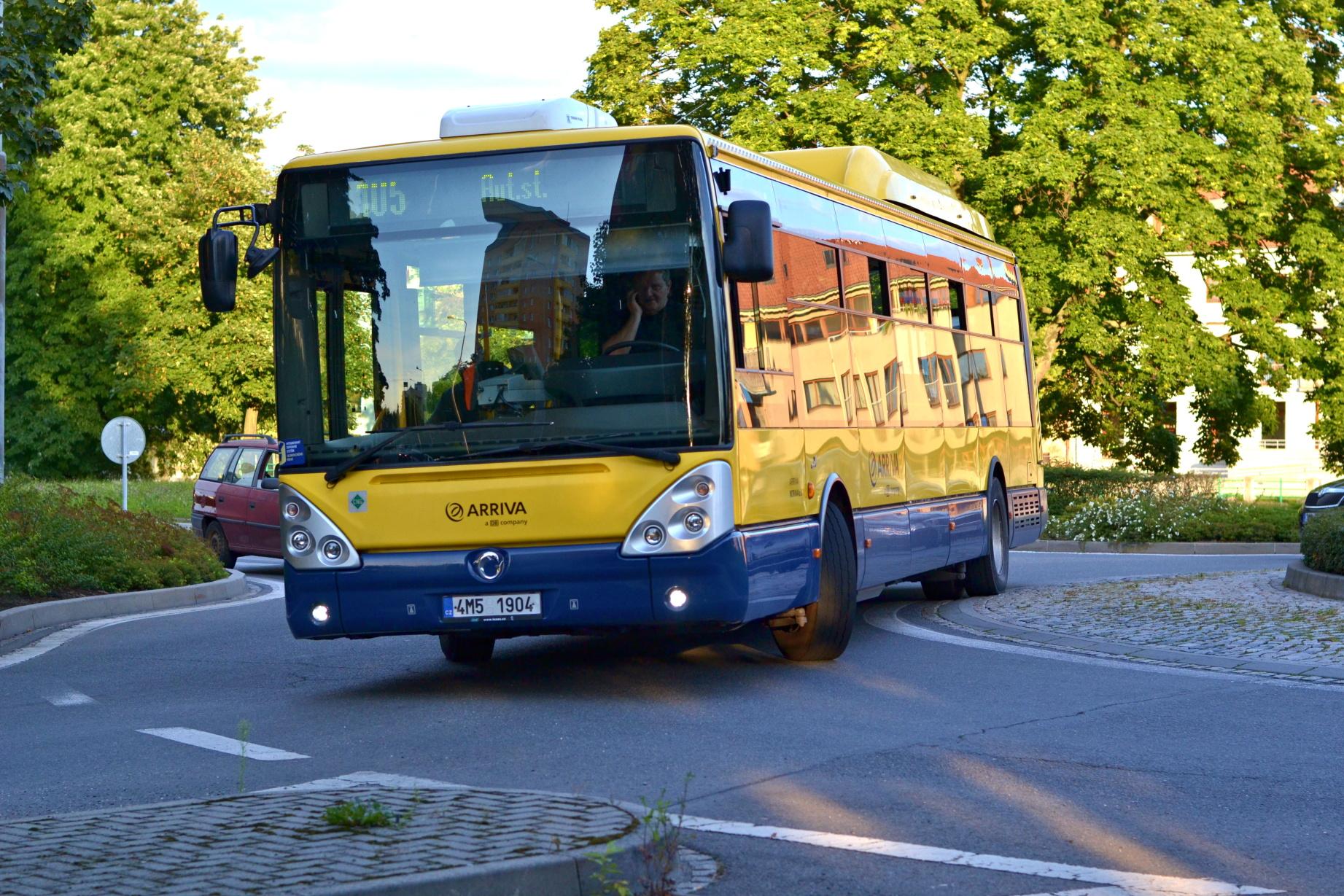 Přerov se připravuje na nového autobusového dopravce.  Za deset let by měl najezdit po městě 9 milionů kilometrů
