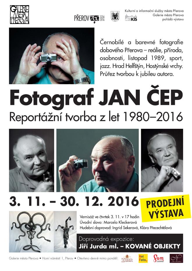 Reportážní fotky Přerova představí Jan Čep v městské galerii