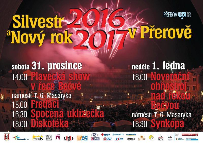 Na Silvestra otužilci a koncerty, ohňostroj až na Nový rok