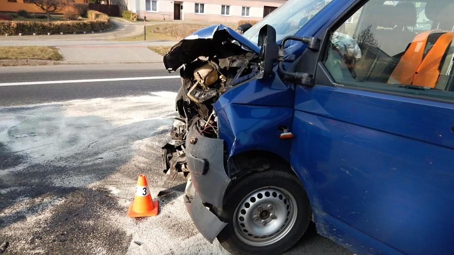 Vážná dopravní nehoda v Oseku nad Bečvou