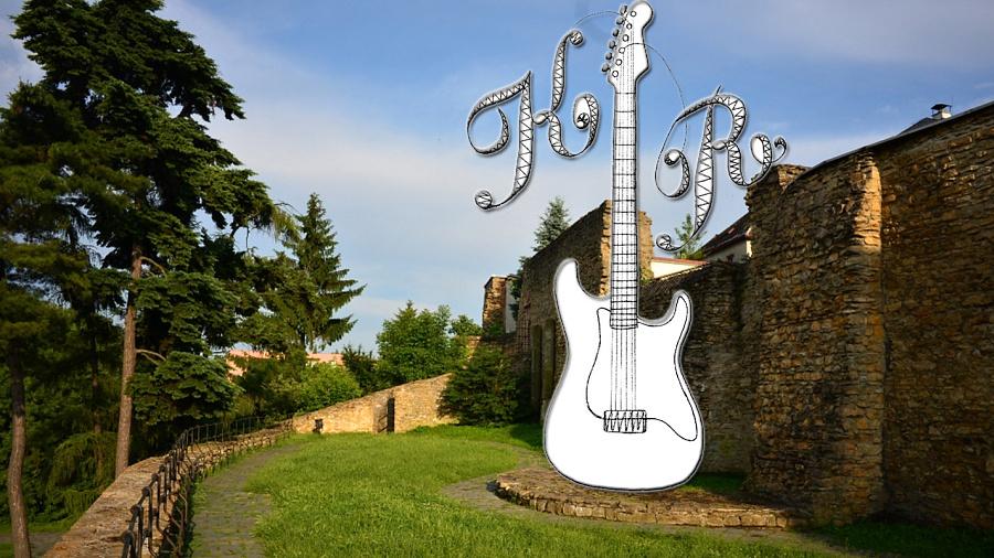 Kytarový rekord na hradbách