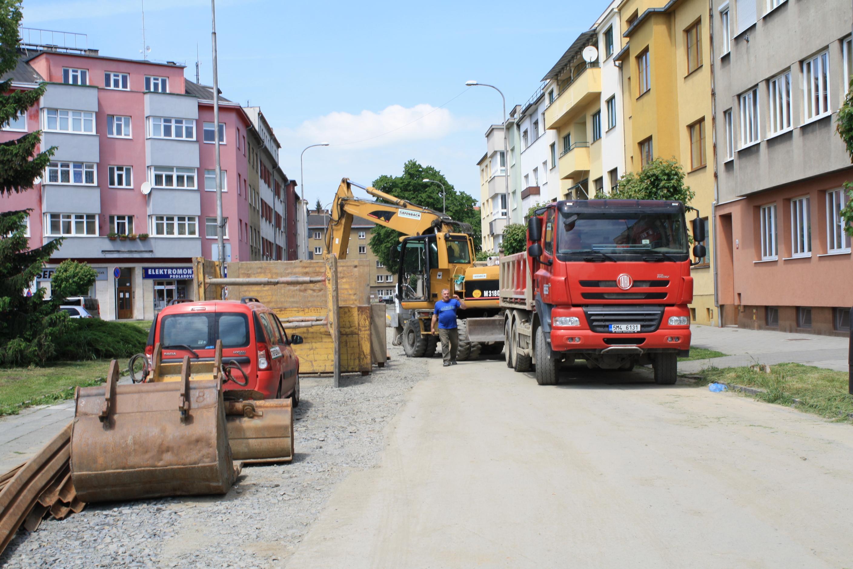 Začalo odkanalizování ulic
