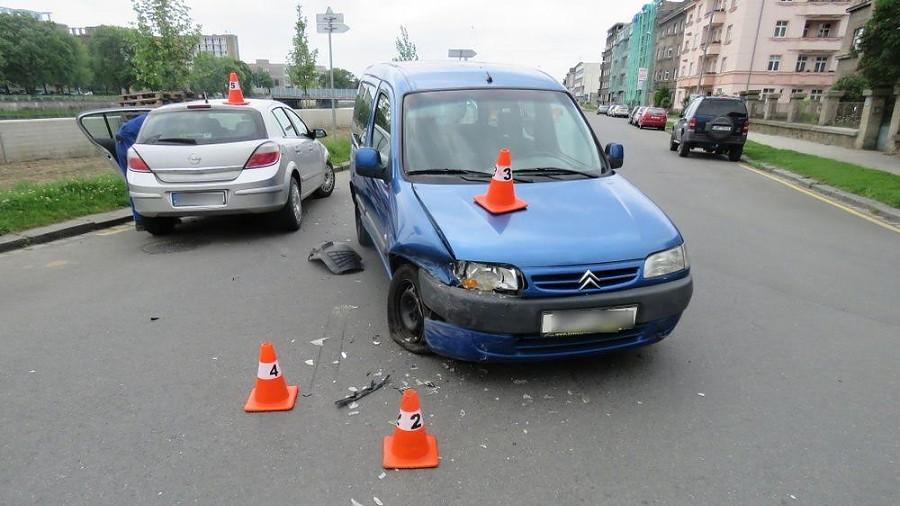 Účastník dopravní nehody nadýchal téměř jedno promile