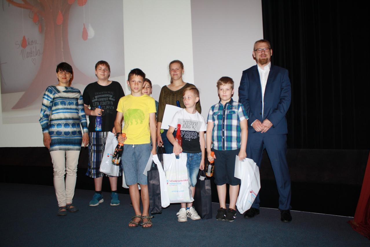 Školáci podpořili dárcovství krve