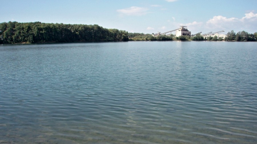 Kontrola jezer v okolí Donbasu