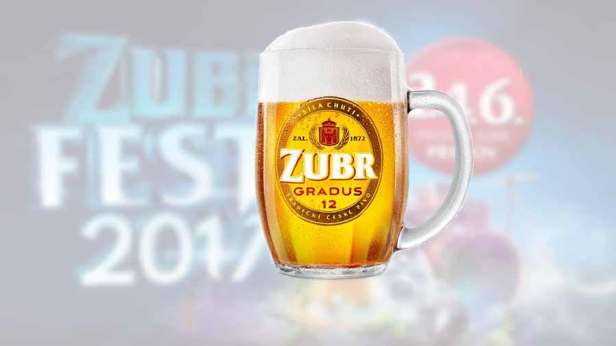 Pivovar Zubr představí na červnovém Zubrfestu nový ležák Zubr Gradus