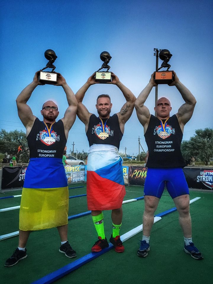 Strongman Jiří Tkadlčík ovládl mistrovství Evropy