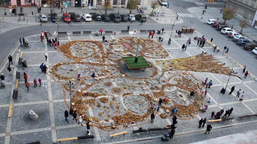 Přírodní koberec opět pokryje náměstí