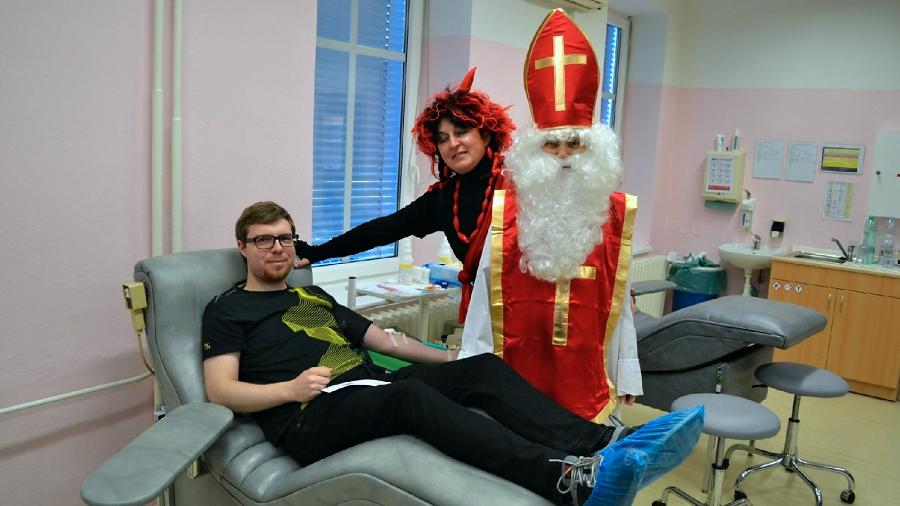 Nemocnice Přerov zve na mikulášské darování krve