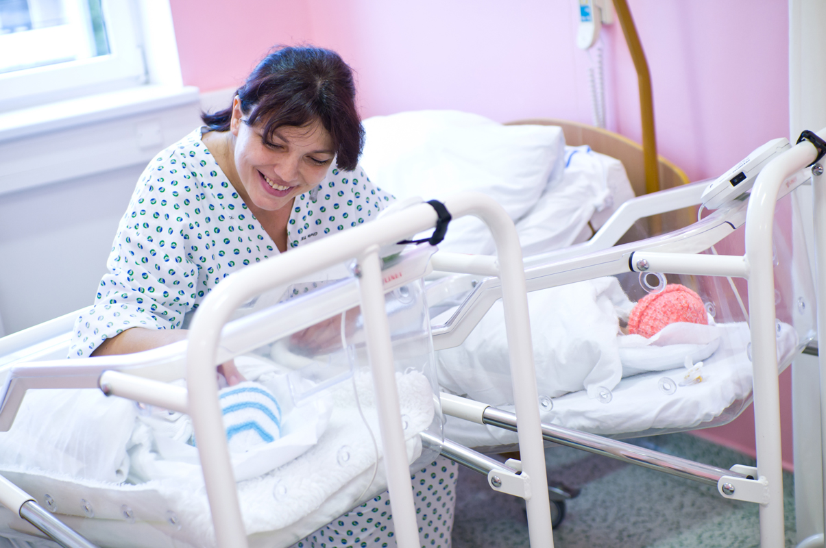 V Nemocnici Přerov se v loňském roce narodilo 844 dětí