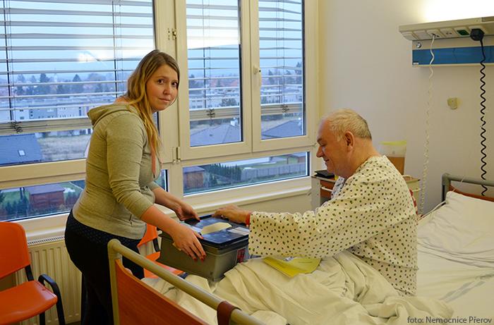 Volit prezidenta budou i pacienti vNemocnici Přerov