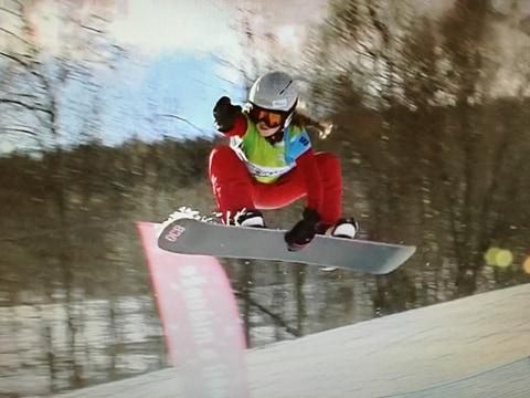 Úspěch mladé přerovské snowboardistky na Olympiádě dětí a mládeže