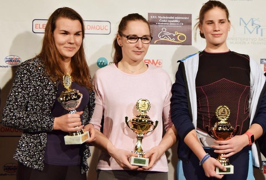 Přerovská veslařka Kateřina Pivková má celkové stříbro z Českého poháru na trenažerech