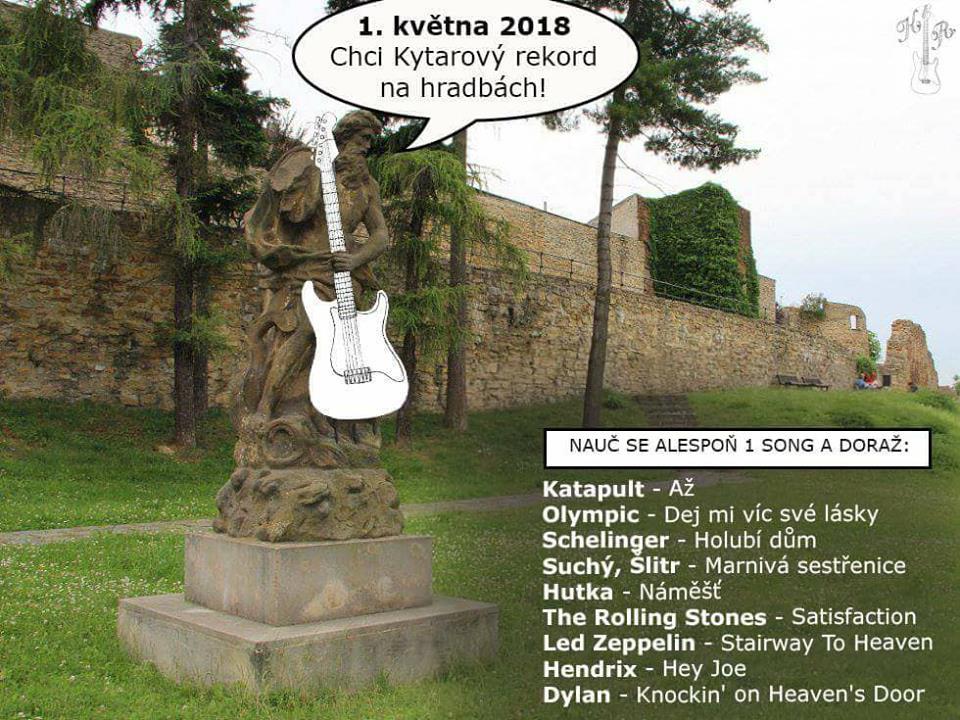 Kytarový rekord na hradbách vol. 2018