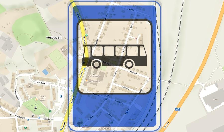 V Předmostí bude nová autobusová zastávka