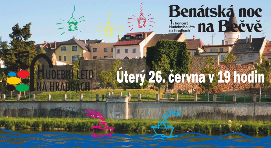 Benátská noc na Bečvě