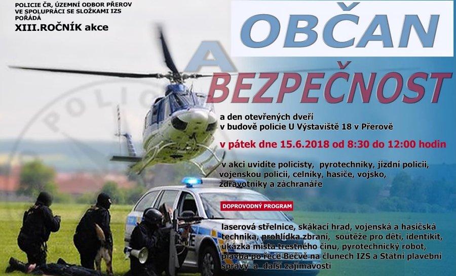 Preventivní akce Občan a bezpečnost