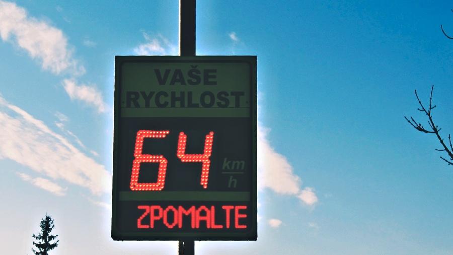 Od poloviny září se začne u Přerova měřit rychlost zkušebně..