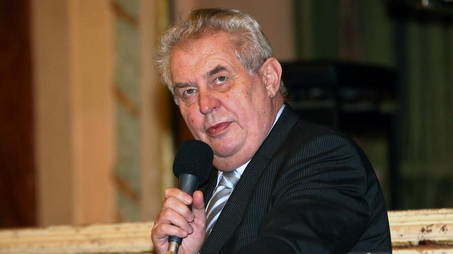 Prezident Miloš Zeman bude dnes na Masarykově náměstí besedovat s Přerovany