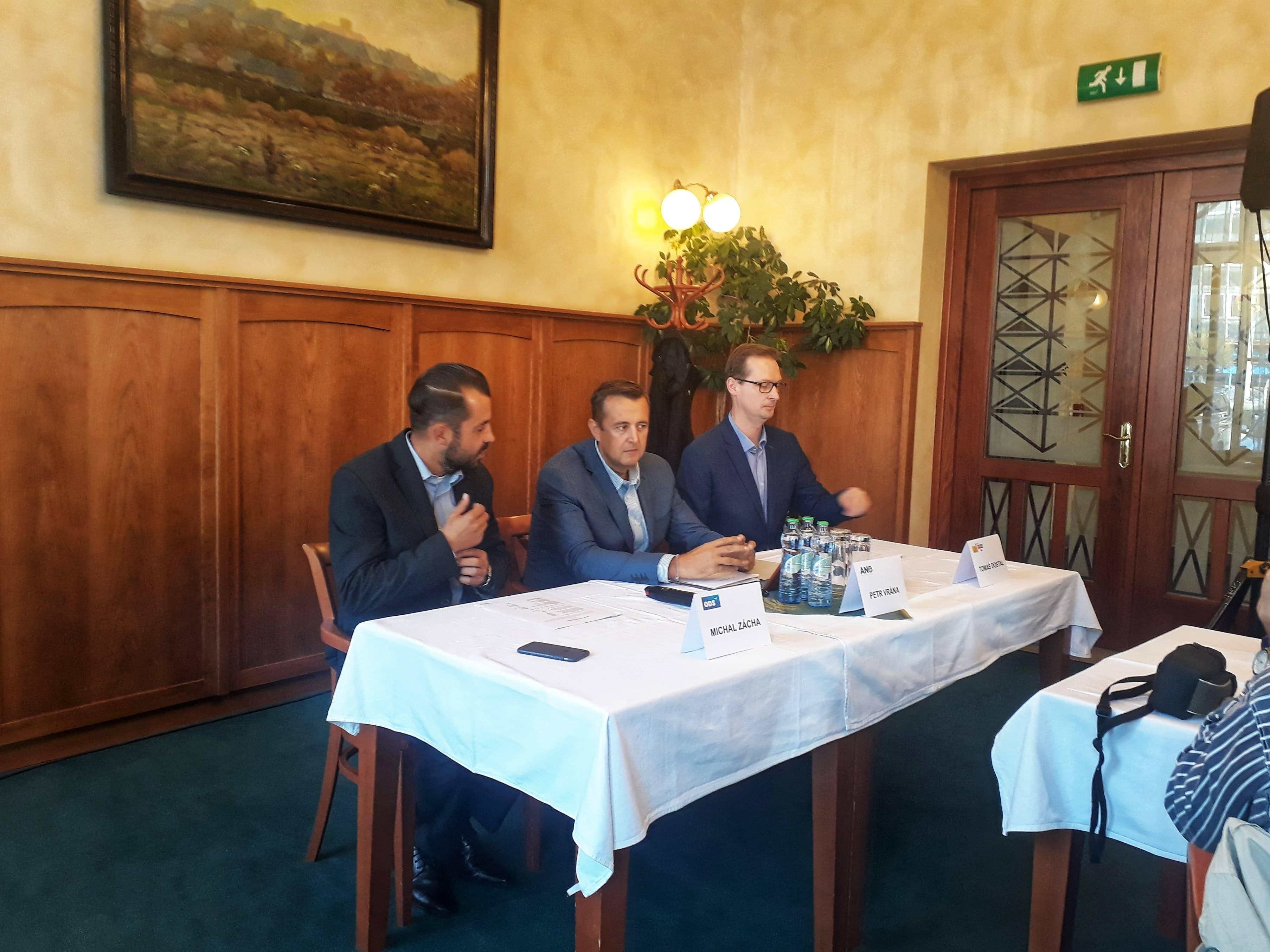 Výsledky koaličních jednání: přerovským primátorem by měl být Měřínský, koordinace dopravních staveb v gesci Navrátila