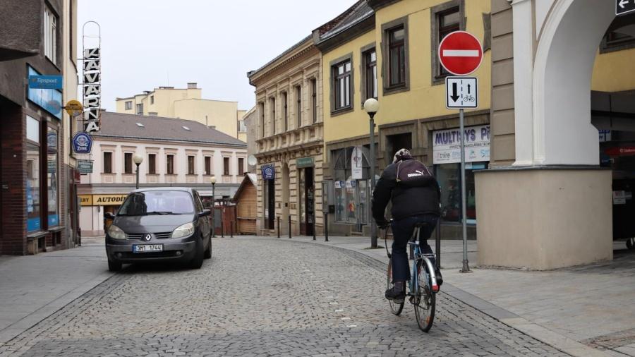 Cyklisté z Újezdce a Jižní čtvrti se teď splavněji dostanou do centra Přerova