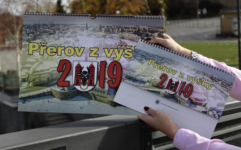 Kalendář pro rok 2019 si nafotili sami Přerované. Zabrali své město z ptačí perspektivy