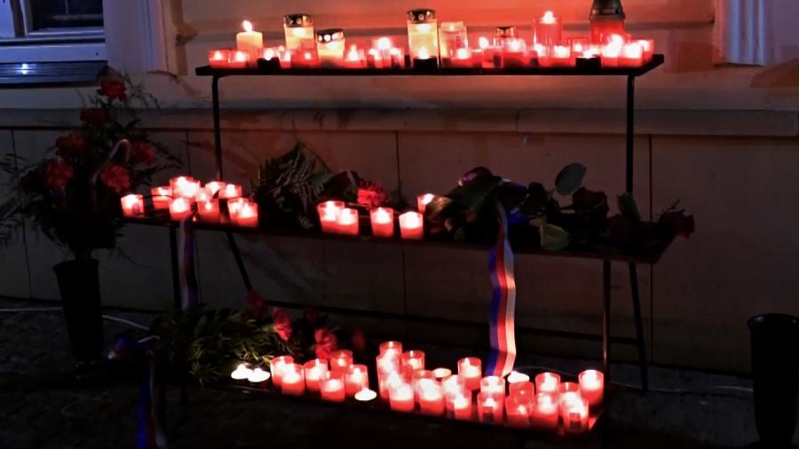 Události spojené se 17. listopadem si občané připomenou u pamětní desky T. G. Masaryka