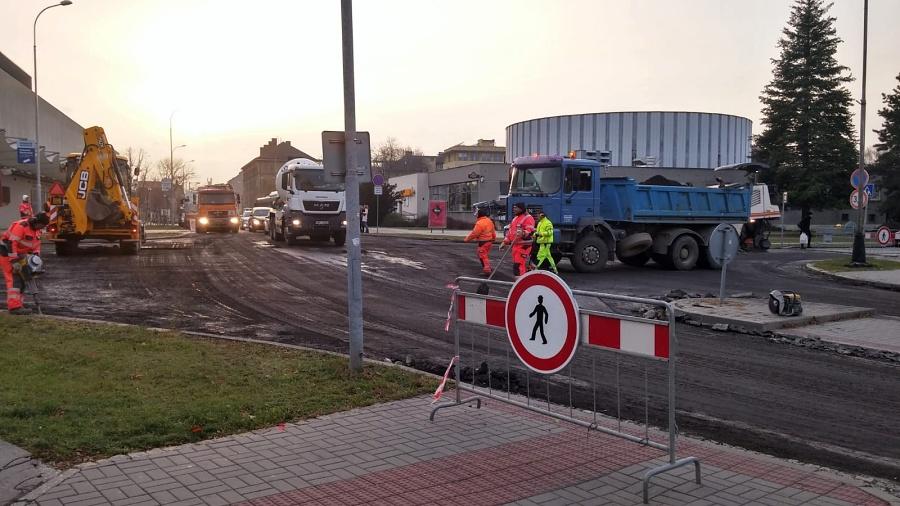 Čechova ulice je uzavřena. Seznamte se s harmonogramem prací