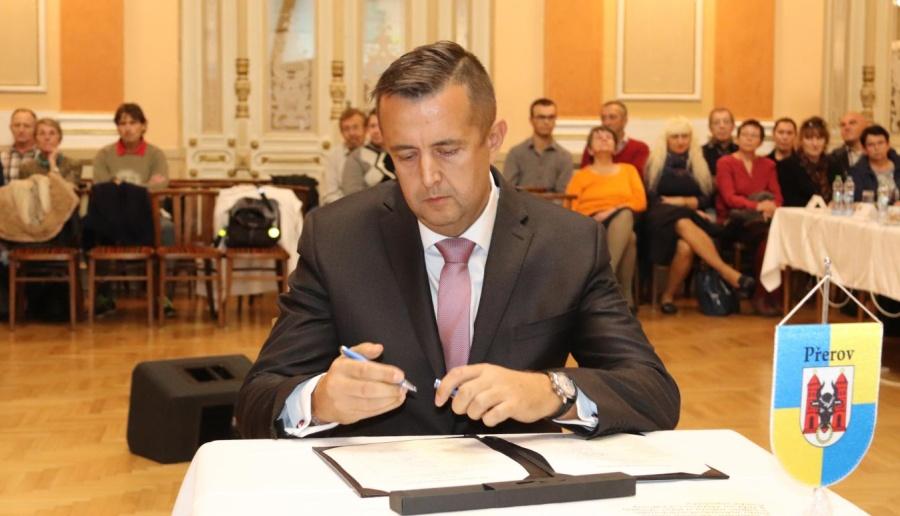 Poslanec a přerovský radní Petr Vrána se stal náměstkem hejtmana Olomouckého kraje