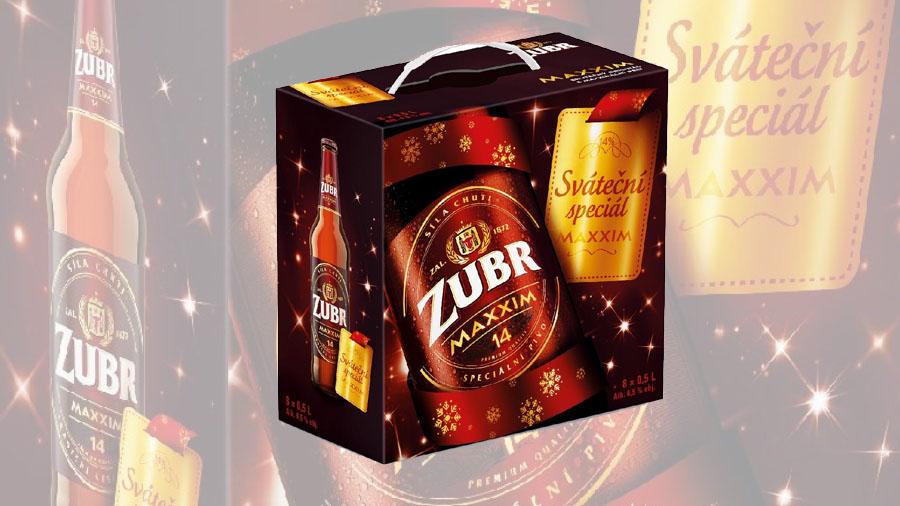 Se začátkem adventu se vrací oblíbený speciál Zubr Maxxim